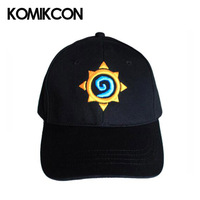 Hot Game Hearth Stone Hat Baseball Cap Three dimensional Embroidery Cap Adjustable Hat Halloween Christmas Costume Hat