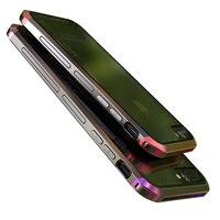 Original Luphie Brand Luxury Aluminum Metal Bumper Transparent Gorilla Back Cover For Iphone 7 7plus 6