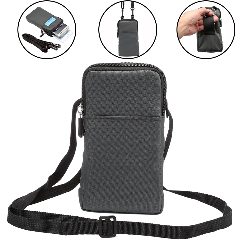 Bolsa deportiva, cinturones, funda de teléfono para iPhone 11 Pro Max X XR 8 7 Plus Samsung A51 A50 S20 Ultra Huawei Redmi, soporte para bolso de hombro
