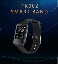 Smartch TK002 Smart Браслет оригинальной IP67 монитор сердечного ритма долгого ожидания фитнес для Android IOS PK Xiaomi miband 2 браслет