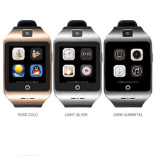 Q18 apro I8Sสมาร์ทนาฬิกาบลูทูธสนับสนุนซิมการ์ดTF PedometerออกกำลังกายMonitorนาฬิกาข้อมือสำหรับIP HONEมาร์ทโฟน