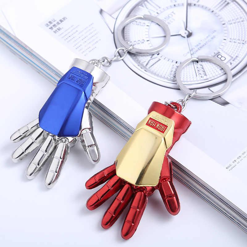 アベンジャーズキーホルダーキャプテンアメリカアイアンマンスパイダーマン Thanos さん手袋バットマントールのハンマースーパーマンキーホルダーペンダント図おもちゃ