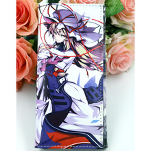 TouHou Project Anime Synthetic Leather Wallet with Internal