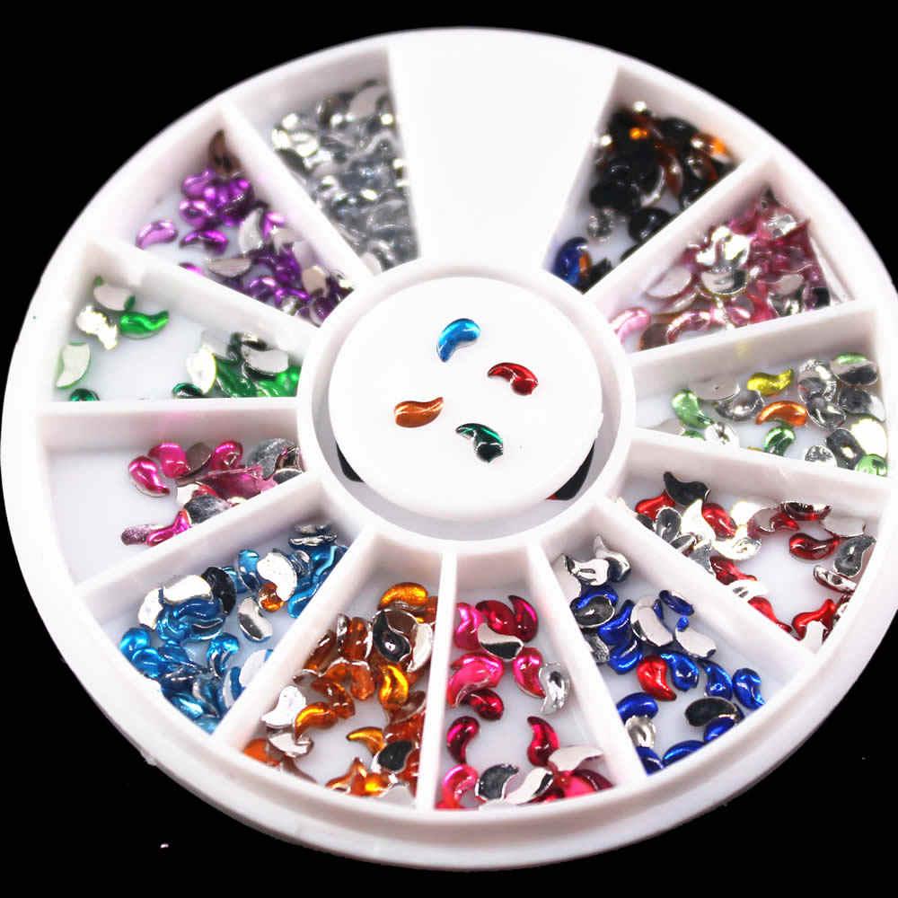1pcs rotação grade arte do prego modelos puro claro geléia silicone prego placa de carimbo transparente prego arte do prego 01