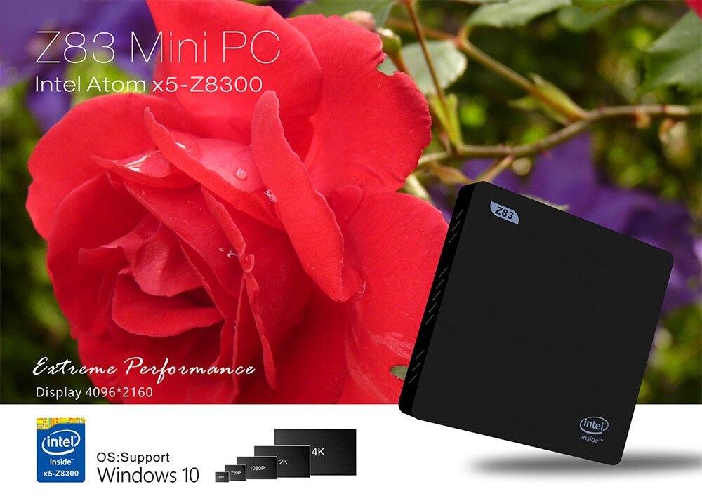 Beelink Z83 TV Box Atom X5-Z8300 DDR3 2GB Ram 32GB Rom Windows10