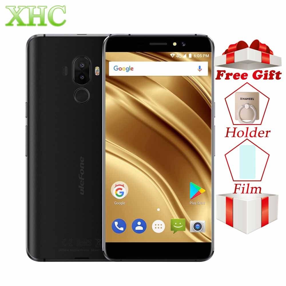 Ulefone S8 Pro 5.3'' Smartphone 2GB+16GB Dual Rear Cameras Android 7.0 Quad Core 13MP OTG GPS 1280 x 720 Dual SIM 4G MobilePhone