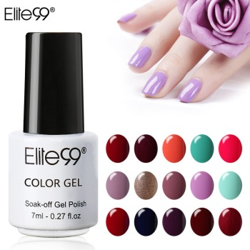 Elite99 7 ml UV LED Gel Lack Tränken Weg Nagel Gel Polish Long Lasting Gel Nagellacke Lack Für DIY nail art Design Maniküre