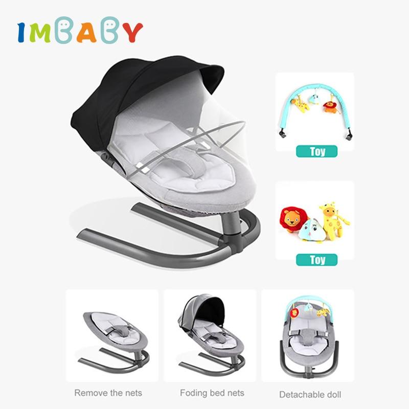 IMBABY Baby Rocking Chair Baby Cradle Baby Swing Rocking Chair For Newborns Swing Chair Infant Cradle Innrech Market.com