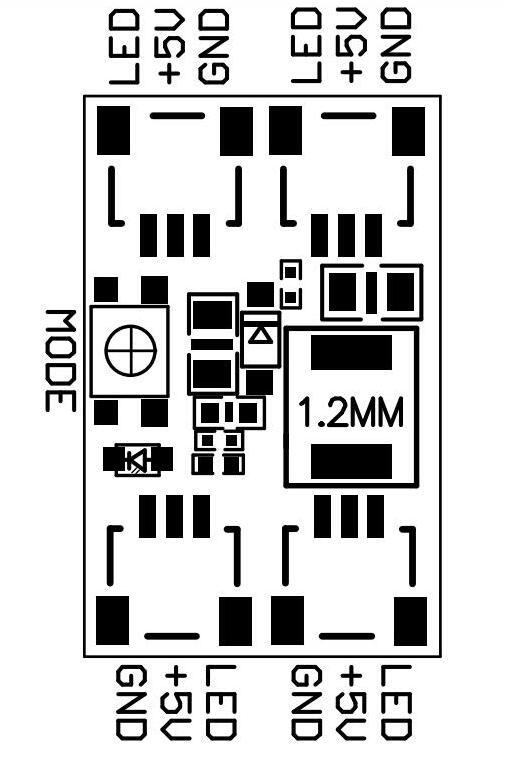 LED WS2812 control module (1)