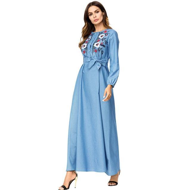 Denim Maxi Dresses – Fashion dresses
