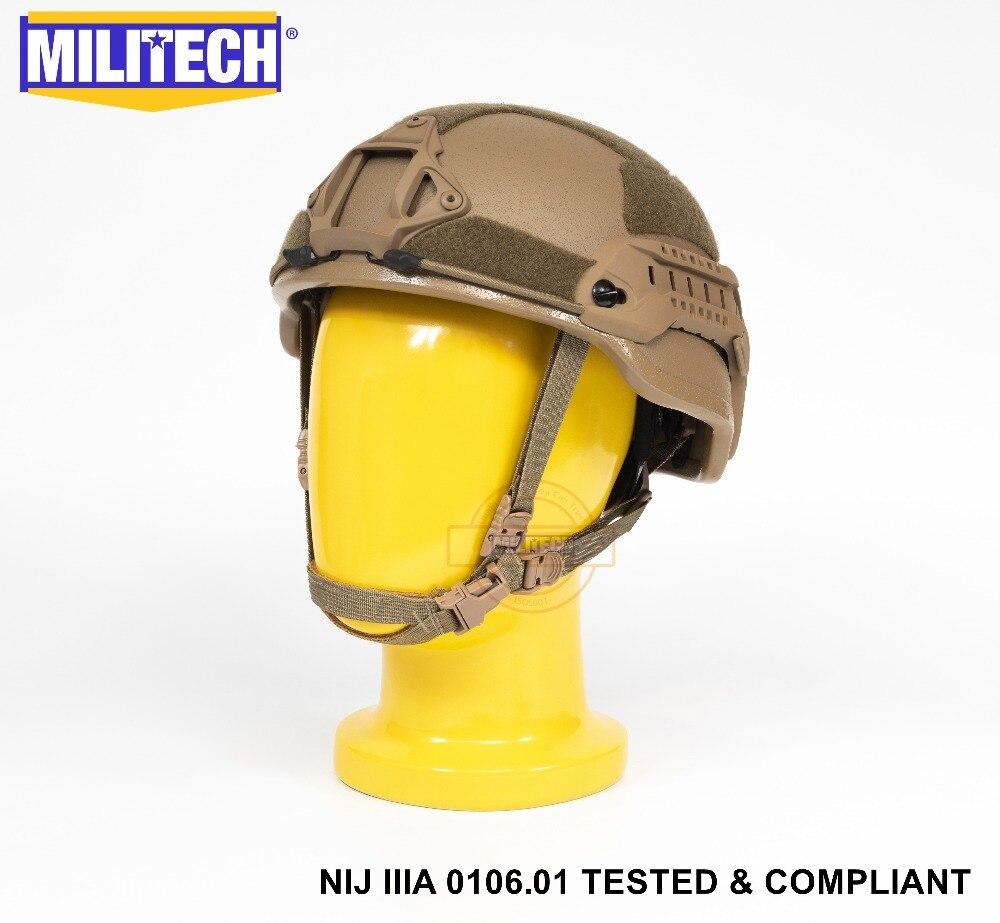 Arbeitsplatz Sicherheit Liefert Militech Cb High Cut Infanterie Helm Ebene Iiia 3a Ballistischen Aramid Kugelsichere Helm Mit 5 Jahre Garantie Mit Test Video