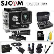 SJCAM SJ5000X Elite Спорт Действие Камера 1080 P Full HD 4 К гироскопа 2.0 дюймов NTK96660 Оригинал Cam Дайвинг 30 м Водонепроницаемый Спорт DV