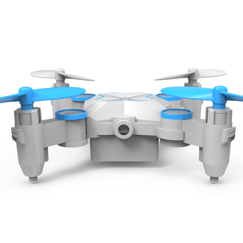 Foldable Mini Drone/Quadcopters with FPV Camera&Wifi Professional RC Flying Selfie Helicopter headless mode&Set High Toy