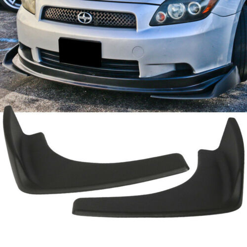 Universal Car Front Deflector Spoiler Splitter Diffuser Bumper Canard Lip Shovel