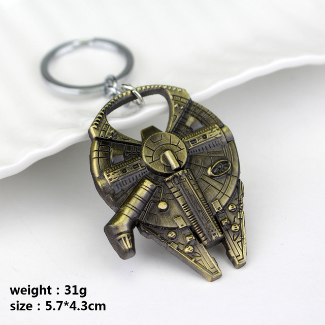 Star Wars Keychain – Falcon Spaceship