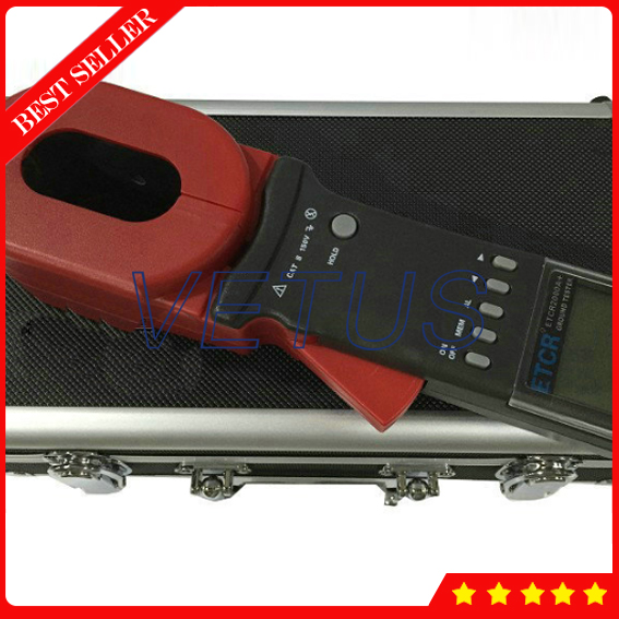 ETCR2000A+ Digital Earth resistance measure with Clamp-On Ground Resistance Tester