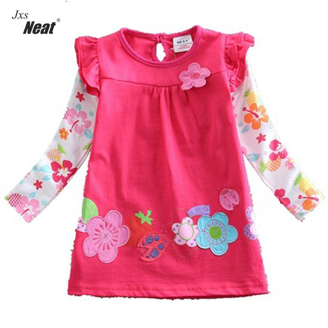 a56406e18 girl clothes Baby girl clothes Lovely The beetle floret dresses kids ...
