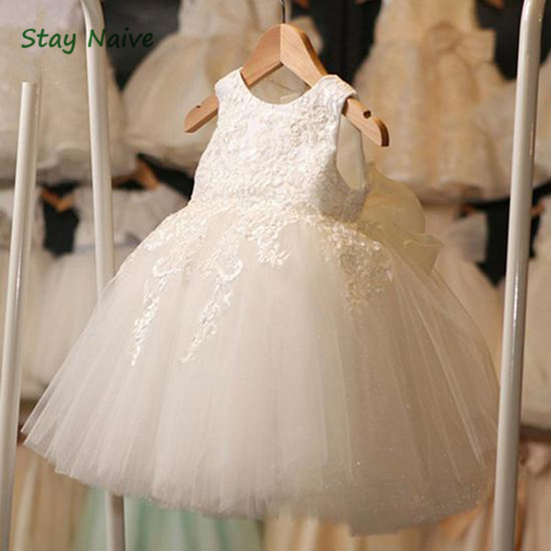 Hot Summer Flower Girls Dress For Wedding And Party Infant Princess Girl Dresses Toddler Costume Baby Kids Clothes summer flower girl wedding dress toddler floral kids clothes lace birthday party graduation gown prom dresses girls baby costume