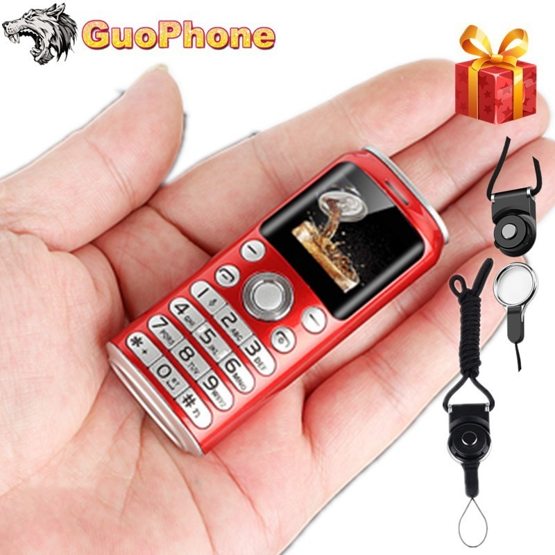 Super Mini K8 Push Button Mobile Phone Dual Sim Bluetooth Camera Dialer 1.0