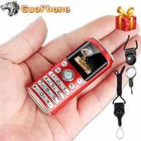 "Super Mini K8 Push Button Mobile Phone Dual Sim Bluetooth Camera Dialer 1.0"" Hands Telephone MP3 Smallest China Cheap CellPhone"