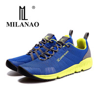 MILANAO 2017 Original Brand Men Women Running Shoes Classic Mesh Athletic Trainers Breathable Lightweight Sports Sneakers