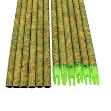 Free Shipping 30″ SP900 Grass Camo Roll Fiberglass Shaft&Nocks For DIY Hunting&Shooting Arrow+20PCS/LOT