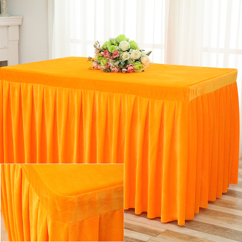 Admirable Us 33 0 Romanzo Solid Color Velvet Fabric Conference Table Cloth Customized Tablecloth Booth Setting Cloth In Tablecloths From Home Garden On Download Free Architecture Designs Scobabritishbridgeorg