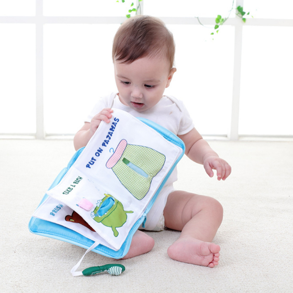 baby-goodnight_Hot Infant Soft Books Early cognitive Development Quiet Bookes baby goodnight ...