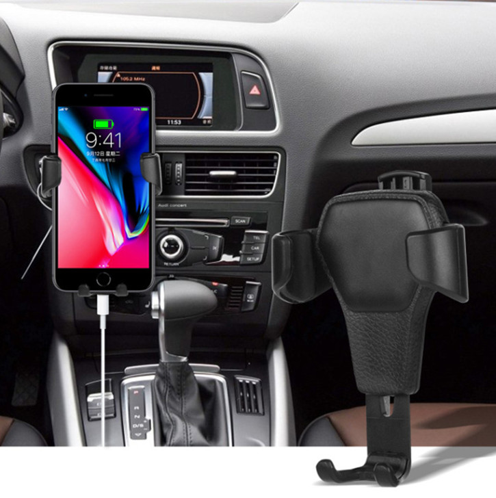 HTB1r0K KXOWBuNjy0Fiq6xFxVXav - Car Phone Holder For Phone In Car Air Vent Mount Stand No Magnetic Mobile Phone Holder Universal Gravity Smartphone Cell Support