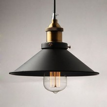 Loft Vintage Industrial Lighting Copper Lamp Holder Pendant Light American Aisle Lights Lamp Edison Lustre 110V-220V