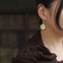 Perhiasan Natural Anting-Anting Lotus