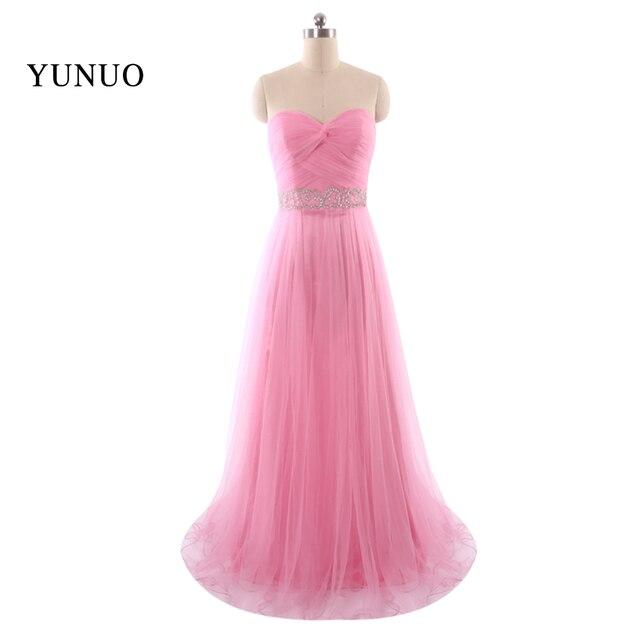 Elegant Hot Sale New Arrive Sweetheart Sleeveless Long Prom Dress ...