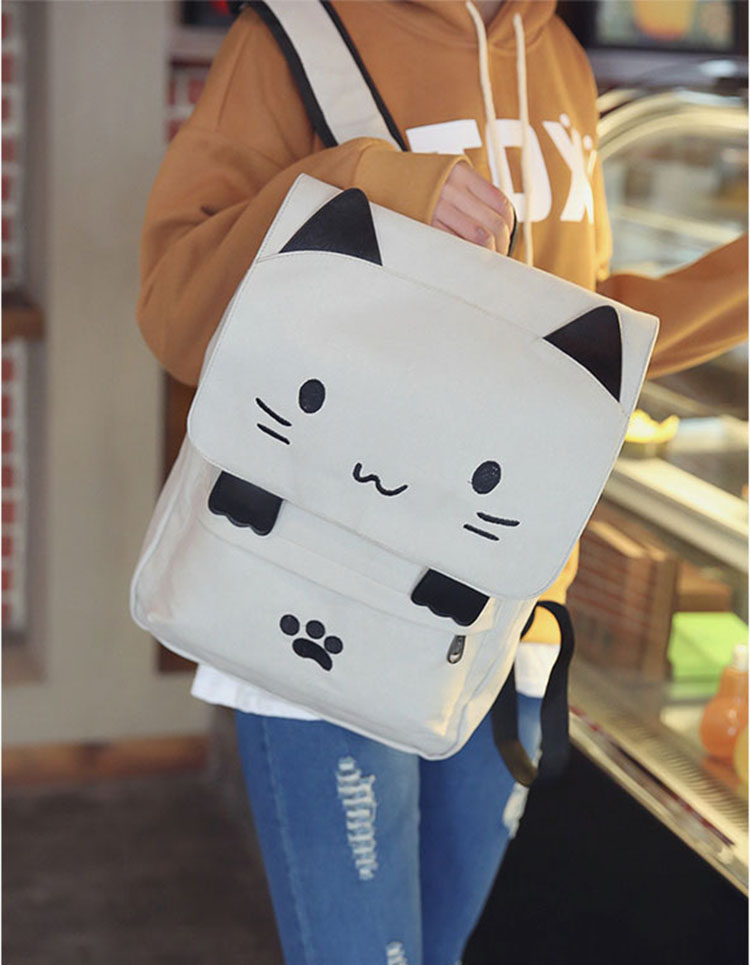 Cute Cartoon Cat Backpack