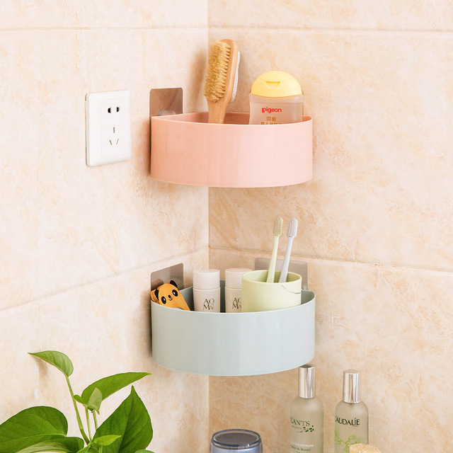 Superieur Bathroom Toiletries Storage Racks Plastic Holders Kitchen Condiment Shelf  Cosmetic Organizer Home Accessories Supplies Products