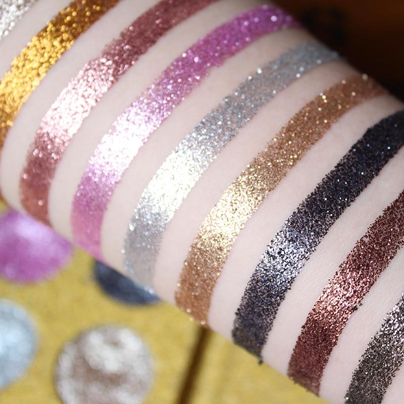 IMAGIC12 Färg Mycket pigmenterad Diamond Glitter Eye Shadow Palette - Smink - Foto 4