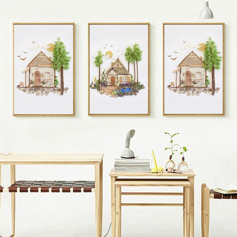 online kaufen großhandel sommer landschaft malerei aus china, Innenarchitektur ideen