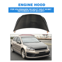 Carbon Fiber front bumper Bonnet Machine hood Cover for Volkswagen VW Golf 7 VII MK7 Hatchback GTI / R 2014 2017
