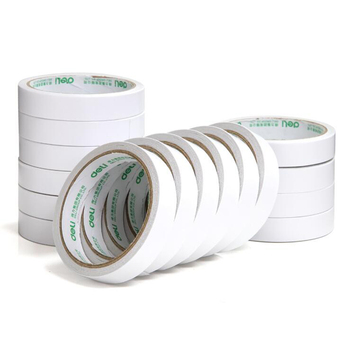 18mm *9.1m Double-Sided Cotton Tape Ordinary Type Tape Double-Sided Adhesive Office Stationery Home Double-Sided Adhesive selling 10 piece lot office adhesive tape high quality brand double sided tape office school stationery
