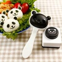 Sushi set mốc cụ Embossing die khi Laver Rice và cuộn rau phim hoạt hình bé hấp gạo DIY Sushi cụ maker Cooking