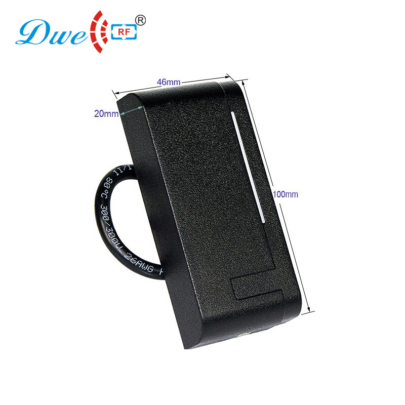 Free Shipping FCC Certified 13.56 Mhz Wiegand 26 Hf Outdoor RFID Card Reader For Door Access Control System