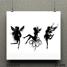 AZSG dancer Clear Stamps/Seal For DIY Scrapbooking/Card Making/Album Decorative Silicone Stamp Crafts