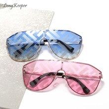 Long Keeper Sunglasses Women Men Sun Glasses Eyewear Watermark Eyeglasses Square Frame PC Legs Lens Shade UV400 Fashion Outdoor цены
