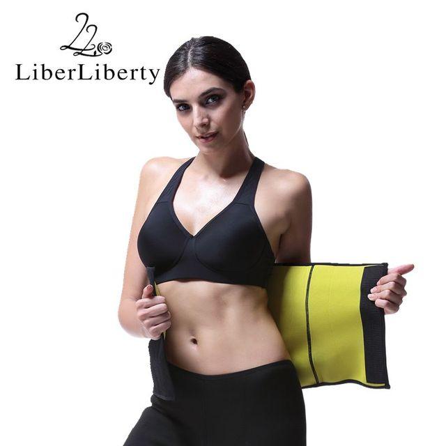 Neoprene Slimming Belt Sweat Women Body Tummy Shaper Belly Underwear Adjustable Excercise Fitness Sports Tops Gym Running