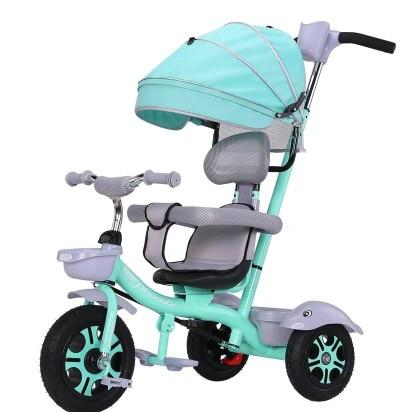 Bambini triciclo bicicletta bambino passeggino leggero auto per bambiniBambini triciclo bicicletta bambino passeggino leggero auto per bambini