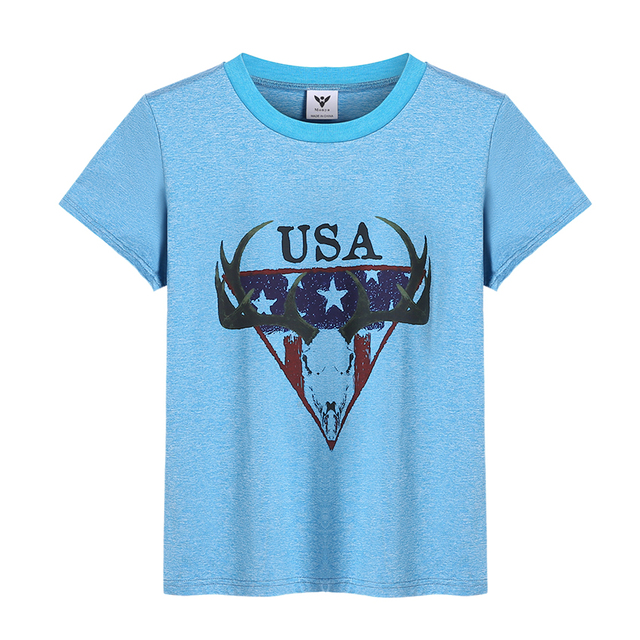 Monya 3-8 Anos Meninos Camisetas Bobo Choses Azul de Manga Curta Tops T  Camisas f367df7f2dd68
