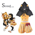 New Customized Anime Kagamine Rin Vocaloid Black Cat Cosplay Costume Unisex Full Set Free Shipping
