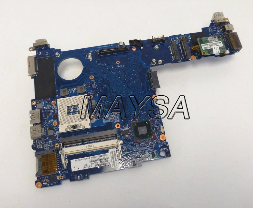 685404-001 685404-601 laptop Motherboard fit For HP EliteBook 2570p Notebook PC 100% tested working original 615842 001 motherboard fit for hp cq32 g32 series notebook pc main board 100% working