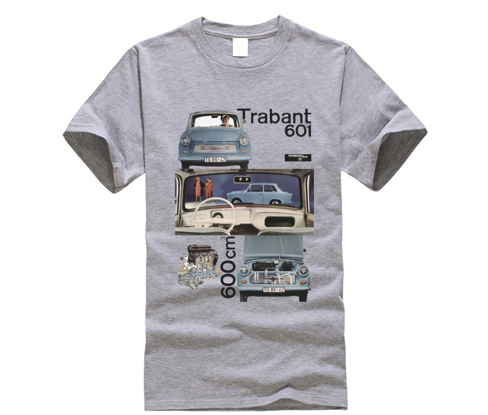 2aa8b7cd4 T-Shirt 2019 Fashion Men T-SHIRT MAGLIA GERMANIA EST COMUNISMO TRABANT AUTO  VINTAGE