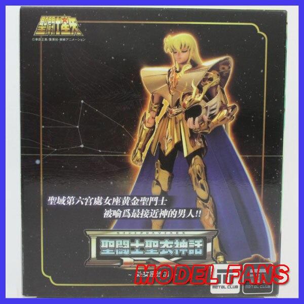 MODEL FANS  Metalclub MC Metal club Virgo Shaka Model Saint Seiya metal armor Cloth Myth Gold Ex2.0 action Figure