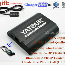 A2DP Yatour Phone-Call Bluetooth Quadlock Audi Skoda YT-BTA AUX for VW Car-Adapter Wireless